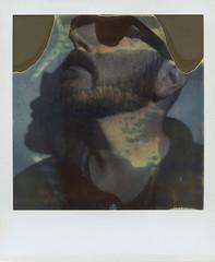 (abdukted1456) Tags: camera portrait selfportrait self polaroid sx70 integral expired tz timezero expiredfilm selfie landcamera instantfilm polaroidweek roidweek