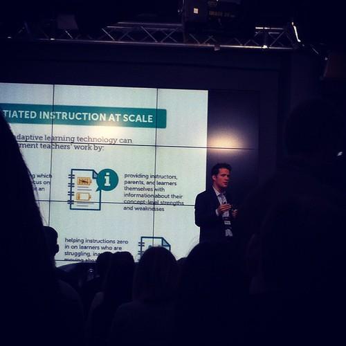 Выступление компании Knewton #образование #edcrunch #knewton #didgitaloctober
