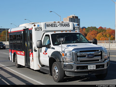 Toronto Transit Commission #W279 (vb5215's Transportation Gallery) Tags: toronto bus ford senator ttc transit friendly lf commission sii f450 startrans 20112012