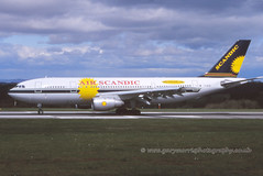 G-SWJW Airbus A300 (Gary J Morris) Tags: air airbus a300 bristolairport scandic eggd gswjw 15052001