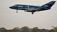 Dassault Falcon 20.  G-FRAU. (Wally Llama) Tags: cobham tamron lossiemouth raflossiemouth dassaultfalcon20 canon1dmkiii jointwarrior gfrau tamronsp150600mm