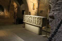 Autel de Saint Cassien (So_P) Tags: france church saint marseille kirche victor altar chiesa autel abbaye cassien eglsie