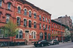 South 4th Street (Juni Safont) Tags: nyc newyorkcity brooklyn williamsburg rowhomes