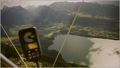Hang gliding (Maw*Maw) Tags: lake france mountains eye annecy ariel birds view paragliding gliding hang hangliding aeriel vario atimeter