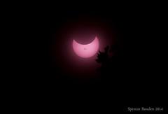 eclipse-2 (Spencer Bawden Photography) Tags: sky sun moon canon eos rebel solar eclipse astro spots filter astronomy spencer sunspot partial celestial t3i bawden spazoto