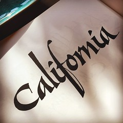 California (Stewf) Tags: california lettering calligraphy arthurbaker uploaded:by=instagram