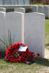 Captain N. G Chavassa (Steven Whitehead) Tags: england france grave graveyard bar germany war remember belgium stones captain poppy poppies worldwarone british ww1 remembrance fighting reef vc gravestones ypres 888246