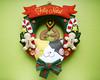 Guirlanda de Natal (Meia Tigela flickr) Tags: natal casa artesanato artesanal gatos guirlanda gato feliznatal porta gata manual feltro doce decoração gatinho gatinhos gatas biscoito gatinha bordado enfeite natalina bichinho botões decorativo natalino