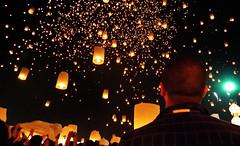 Loi Krathong, Chiang Mai (Marko Paunovi) Tags: festival mai lantern chiang peng yi loi krathong