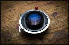 Wollensak 162mm f4.5 (Lens Bubbles) Tags: lens large f45 format wollensak 162mm