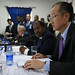 World Bank Group President, Jim Yong Kim nd President of Somalia, H. E. Mr. Hassan Sheikh Mohamud