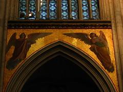 Angels (Sparky the Neon Cat) Tags: angel choir germany deutschland high europe cathedral dom interior von north arcade cologne kln edward koln spandrel rhinewestphalia steinle