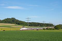 Weisswurst im Berner Oberland (Philipps Bahnwelt) Tags: city berlin ice advertising 1 ic 2000 geneva geneve euro 4 hamburg luzern eisenbahn sbb db basel thun lo