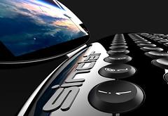 ql black lcd.932 (Rick Dickinson) Tags: computer rick newcomputer dickinson ql sinclairql ql2 newql newsinclairql