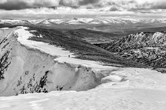 Last of the Cornice (seamus_0) Tags: winter snow mountains scotland takeaview landscapephotographerofyear2014