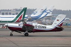 D-EGNN_1_1400_111214 (Sergey Kustov) Tags: private airplane airport ramp moscow aircraft 150 apron piston propeller rallye sheremetyevo socata degnn singeengine