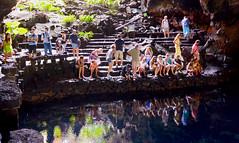 Underground lake Jameos del Aqua in Lanzarote (Wandle2) Tags: lake underground de aqua cave jameos lanzarotte