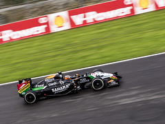 2014 Belgian GP: Force India VJM07 (8w6thgear) Tags: mercedes f1 grandprix formula1 spa gp 2014 spafrancorchamps belgiangp belgiangrandprix forceindia vjm07