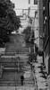Yalniz yuruyenler (cekic photography) Tags: road city travel people blackandwhite building architecture stairs turkey landscape europe child turkiye citylife istanbul human solitary beyoglu turkish mycity insan citylight besiktas tophane turkei siyahbeyaz cihangir citypeople faydalialetcekic cekicphotography