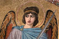 mosaic (Leo Reynolds) Tags: angel tile mosaic altar leol30random xleol30x xxx2014xxx