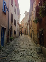 Streets of Motovun (mlee525) Tags: travel streets europe village croatia cobblestone istria iphone motovun schedvisit