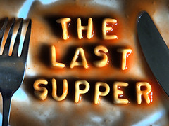 The Last Supper (fstop186) Tags: school boy contrast fun words friend classroom traitor religion humor philosophy battle olympus pasta christian tired latin irony wise spelling betrayal wisdom spaghetti ironic judas heinz weary omd deceit lastsupper em1 iscariot cynical rebelwithoutacause betrayed cynic alphabetti unchristian olympusm1240mmf28