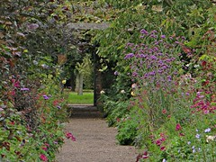 Garden relish (Dazzygidds) Tags: flowers beautiful path diversity colourful nationaltrust warwickshire coughtoncourt