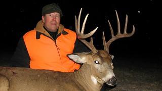 Kansas Trophy Whitetail Bow Hunt 44