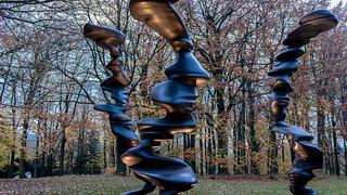 Points of View von Tony Cragg im Skulpturenpark Waldfrieden in Wuppertal