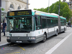 Renault Agora L - RATP 1561 (Pi Eye) Tags: paris bus renault autobus iledefrance agora ratp rvi irisbus stif gelenk agoral articul