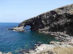 Arco dell' Elefante - Pantelleria (giuseppe parrinello) Tags: sea mare sicily sicilia bizzarro pantelleria elefante isola simbolo formazionerocciosa arcoelefante summer2014 estate2014
