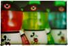 Stupid TV! (hbmike2000) Tags: blue red macro reflection green closeup nikon warm tshirt disney mickeymouse d200 hdr primarycolors hoya odc closeuplens mickeymouseears photoborder macromonday vinlymation hbmike2000