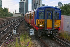 455920 (40011 MAURETANIA) Tags: vauxhall southwesttrains southwest swt blue red class 450 455 444 458 159 waterloo train unit emu electricmultipleunit parliament housesofparliament