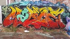 Malice... (colourourcity) Tags: streetartaustralia streetart graffiti melbourne burncity awesome colourourcity colourourcitymelbourne nofilters malice tsf burner alphabetmosnters theboneyard