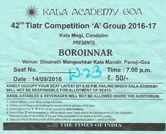 42nd Tiatr Competition A group (joegoauktiatr16) Tags: joegoauk goa tiatr drama konkani candolim