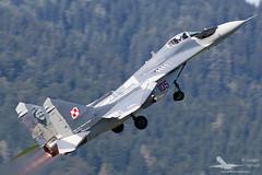 Mikoyan-Gurevich MiG-29 Fulcrum Polish Air Force - Airpower 2016 (Dysko88) Tags: mikoyan gurevich mig29 fulcrum polishairforce fighter airpower zeltweg austria austrianairforce bundesheer loxz aircraft airplane spotting airshow