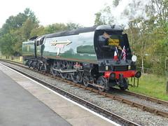 34092 City of Wells on Golden Arrow Duties (RyanBux93) Tags: flying scotsman 12322 city wells 34092 60103 dmu eastlancashirerailway event