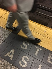 20160922.1 (Andy Atzert) Tags: subway platform shoes businessman suit ontheedge yellowline