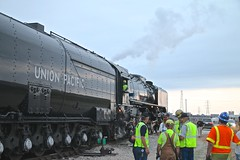 UP #844 PRE TRIP MEETING OVER CHESTER SUB. (railbar2014) Tags: steam upsteam chester sub stl meeting pretripbrief safety