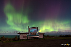 """Copper Country Aurora"" (Michigan Nut) Tags: northernlights auroraborealis nightsky keweenawpeninsula brockwaymountain lakesuperior upperpeninsula copperharbor scenic stars nature outdoors green sign nightphotography rokinon nikon michigannutphotography michigan"