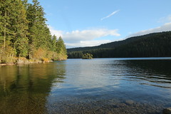 Mountain Lake (DanaRane) Tags: 2016 2016october hiking orcasisland mountainlake