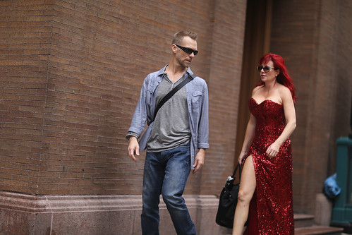 Jessica Rabbit at 7th Avenue and 57th Street.