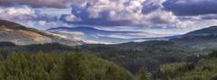 The Duke's View (J McSporran) Tags: scotland trossachs lochlomondandtrossachsnationalpark dukespass callander landscape panorama canon6d ef70200mmf28lisiiusm