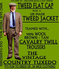 the Country Tuxedo wear tweed 2 (Ban Long Line Ocean Fishing) Tags: countrytuxedo tweed tweedjacketphotos tweeds tweedjacket tie twill texture tweedcoat trousers classic clothing canon coat country christchurch cavalrytwill cavalry nz newzealand napier nelson wellington blazer bloke guy cap clothes tweedcap flatcap scottish scotland uk british britain english england mens man mensfashion menswear hastings hamilton harris text houndstoothtweedjacket houndstooth harristweeds candid countrytweeds cavalrytwilltrousers coatjacketjacketcoats color retro oldschool old older