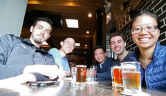 Half Acre Beer Company (uhhey) Tags: halfacre beer chicago sebastian hans kevin stephen myra
