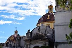 Cpulas (Mario Adalid) Tags: iglesia ixtapaluca ciudad colonial coatepec estado edomex parroquia p