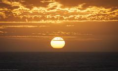 Golden Sunset - Punta de lobos (Silvio Rodrigo Mendez) Tags: sky cloud sunset chile sun golden hour pichilemu punta lobos surf skate landcaspe