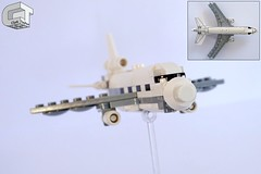 McDonnell Douglas DC-10 (microairliner) Tags: lego micro microscale jet airplane aircraft plane triplane widebody