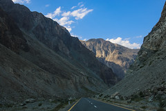 Korakoram Highway, Gilgit Baltistan, Pakistan (umayrshahid) Tags: highway gilgit pakistan blue green