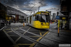 ManchesterVictoria2016.10.09-26 (Robert Mann MA Photography) Tags: manchester manchestervictoria manchestercitycentre greatermanchester england victoria victoriastation manchestervictoriastation manchestervictoriarailstation victoriarailstation city cities citycentre architecture summer 2016 sunday 9thoctober2016 manchestermetrolink metrolink trams tram nightscape nightscapes night light lighttrails